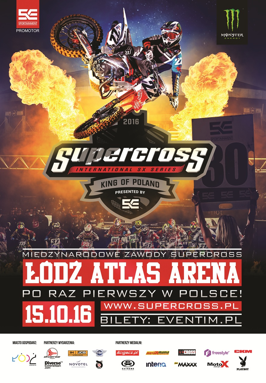 Supercross King of Poland 2016
