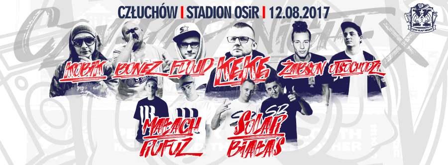 Znamy line-up 10. edycji CZW Rap Night 2017