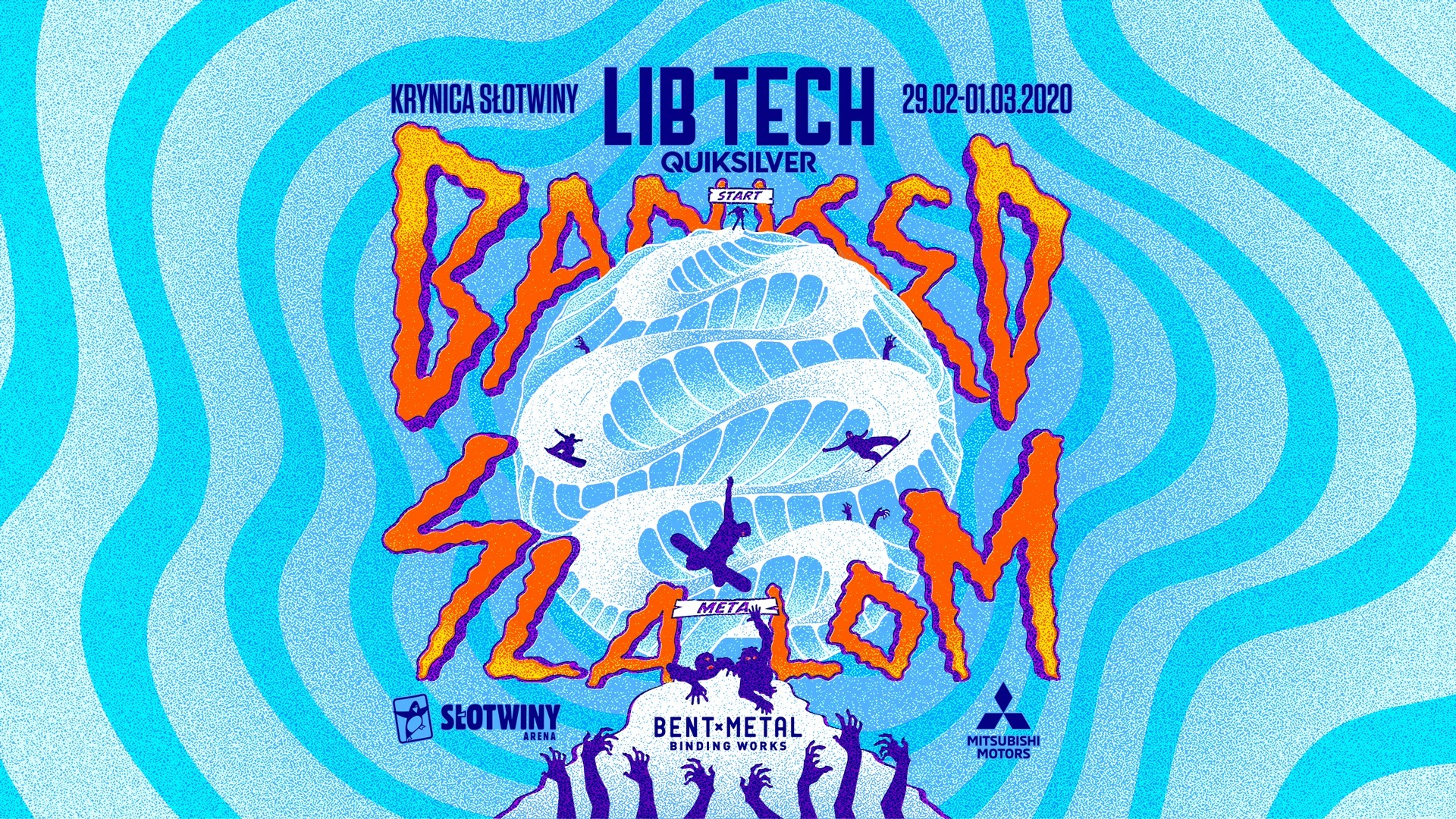 Lib Tech/Quiksilver Banked Slalom 2020