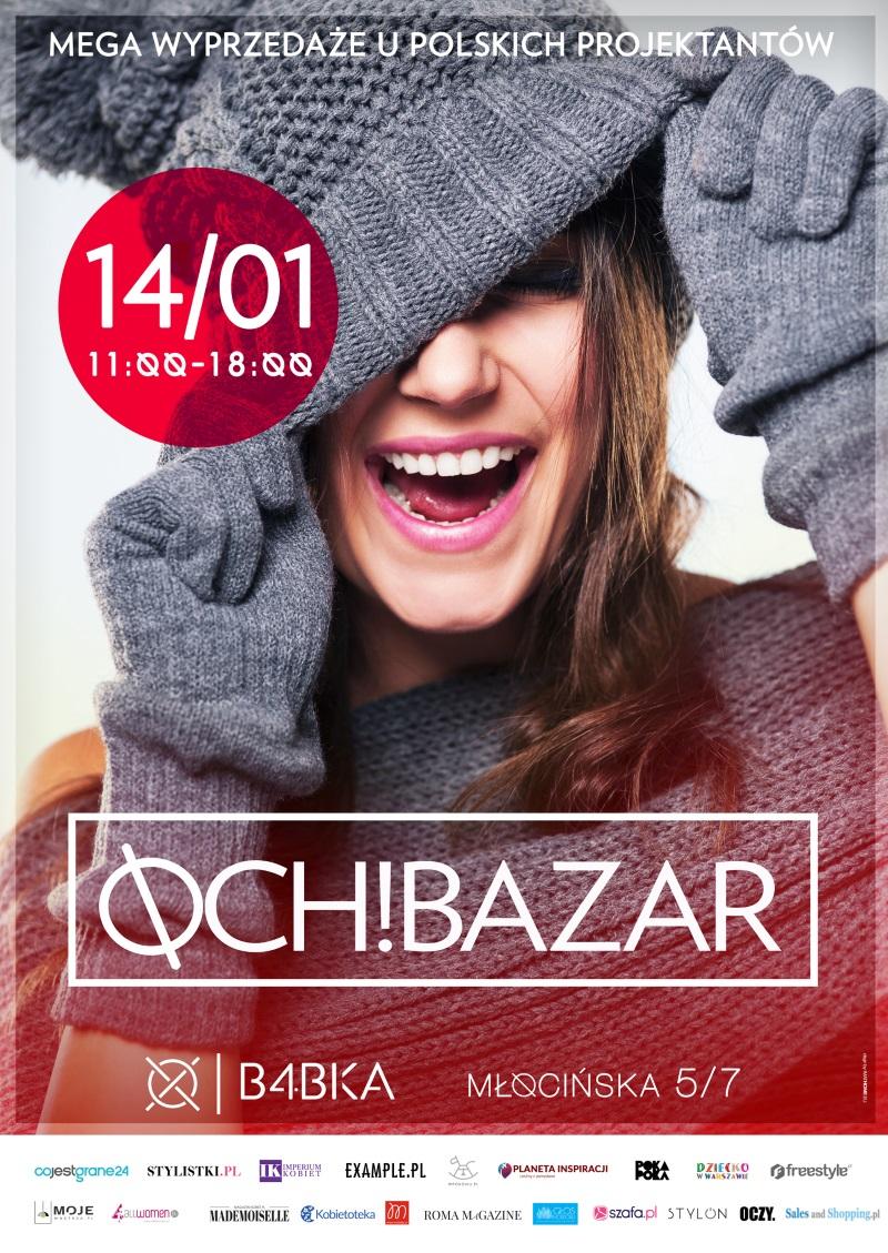 Och! Bazar MEGA Wyprzedaże u polskich projektantów