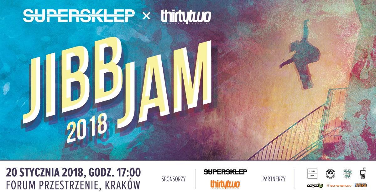 JIBB JAM 2018 - Snowboard w przestrzeni miejskiej