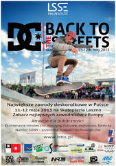 Back to The Streets 2013 poster