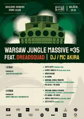 Warsaw Jungle Massive #35 - II Sceny x II Soundsystemy