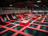 Park trampolin Hangar 646 na Mokotowie