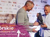 KFG 2018- Jerry Moffatt odbiera Krakow Climbing Award - Lifetime Achievement