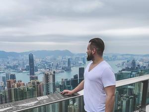 Kuba Paw Hong Kong Victoria Peak
