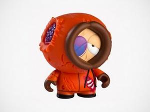 "South Park + kidrobot ""Dead Kenny"""